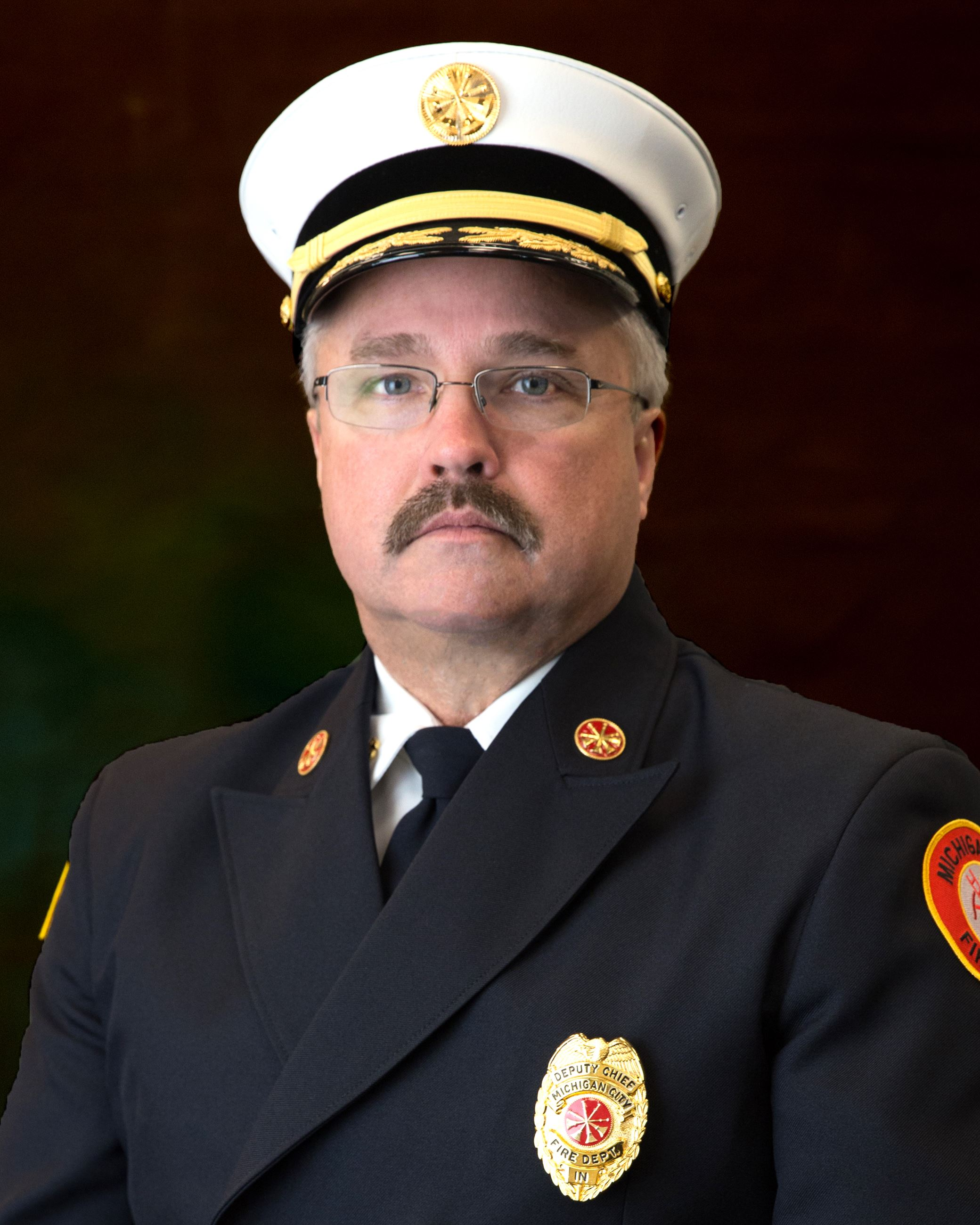 J. Cox, Deputy Fire Chief