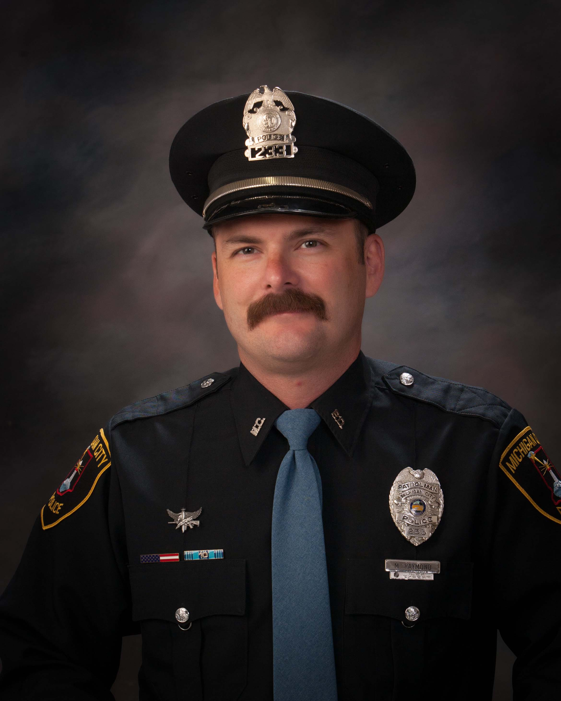 Officer Mark Raymond